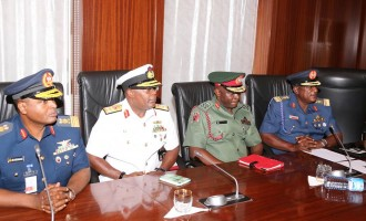 We've curbed corruption in the military, says Buhari
