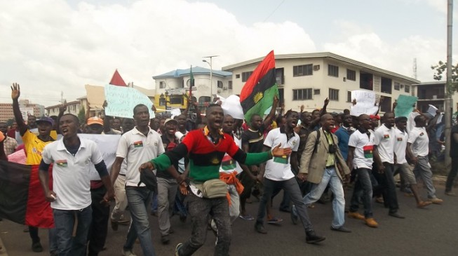 IGP orders arrest of armed Biafra protesters