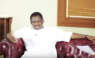 Ask Garba Shehu, says Femi Adesina as he dodges questions on Aisha Buhari's allegations