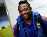 Leicester City makes £23m bid for Ahmed Musa