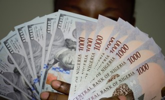 Naira gains, now exchanging for 468/$1