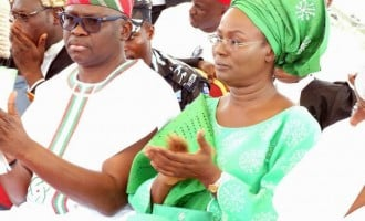 EFCC goes after Fayose's wife