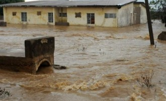 Flood submerges five communities in Ebonyi