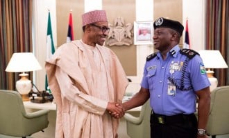 Buhari, IGP meet at Aso Rock
