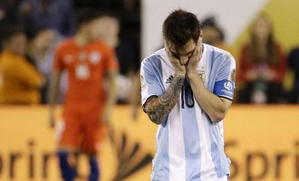 FIFA slams 4-game ban on Messi for insulting referee