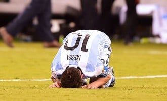 Messi quits international football after losing to Chile in Copa America again