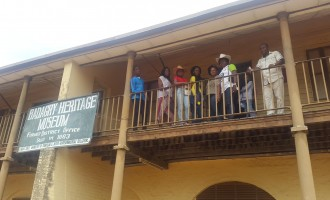 Inside the collapsing Badagry Heritage Museum