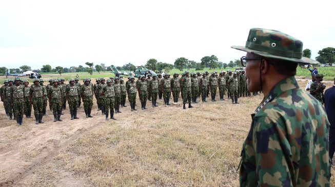 Shake-up in army after Buhari's warning to service chiefs