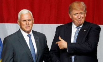 Pence, Indiana governor, is Trump's running mate
