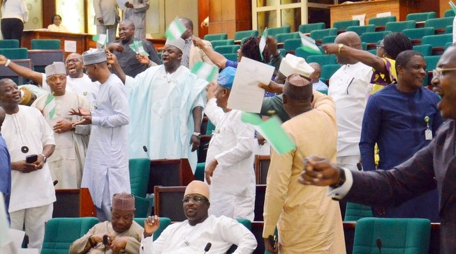 House in rowdy session over bill to provide immunity for legislators