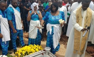 Stephen Keshi's burial in pictures