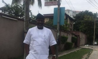 Melaye: I'm in Lagos, walking on Tinubu's street… waiting for noise makers
