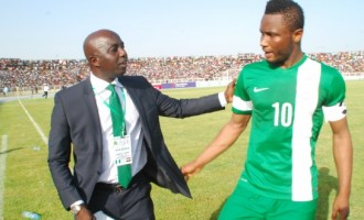 Siasia names Mikel as Dream Team captain