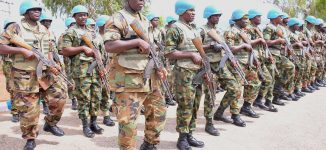 Nigeria deploys 185 troops in Guinea Bissau for peace keeping
