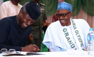 Buhari describes Osinbajo as 'running mate turned friend'