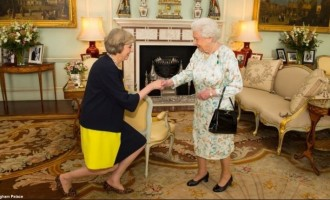 Theresa May, Melaye and the leader's wife