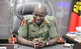 Hearty cheers to Buratai at 56
