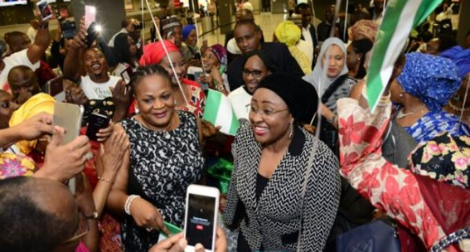 Nothing to show that Aisha Buhari was in the US, says PDP