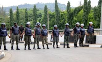 Police block BBOG from entering presidential villa