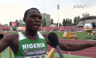 'A DEADLY DAY': Divine Oduduru 'dies on the line' to qualify for 200m semis