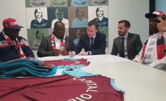 FC Ifeanyi Ubah seals landmark partnership with West Ham United