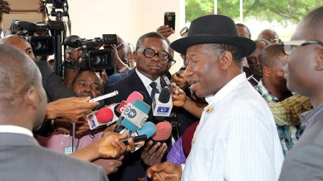 I've been visiting Buhari in the night, says Jonathan
