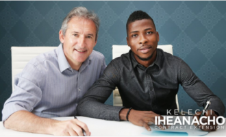 Iheanacho signs two-year contract extension with City