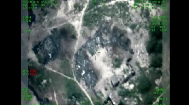 VIDEO: The air strikes that wounded Shekau, killed 300 insurgents