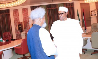 'One of Nigeria's greatest prides' — Buhari hails Soyinka at 85