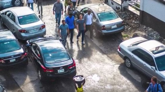 VIDEO: Zuckerberg walks on the streets of Yaba