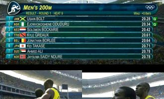 "Remember Divine Oduduru who 'never experred it"", he made it to 200m semis behind Usain Bolt"