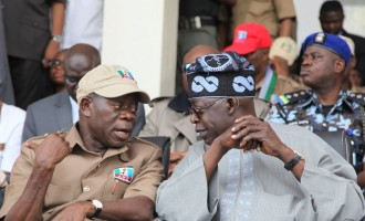Tinubu: Oshiomhole's good work helped APC retain Edo