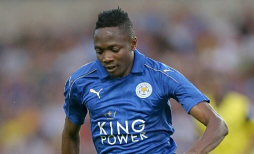 Musa benched, Ndidi shines as Leicester draw with Palace