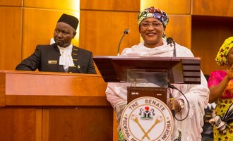 Alhassan, minister of women affairs, slumps at IDP camp