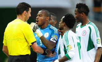 Dubious penalty-awarding Grisha picked to ref Nigeria-Zambia World Cup qualifier