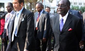 It's time to go, Botswana president tells Mugabe