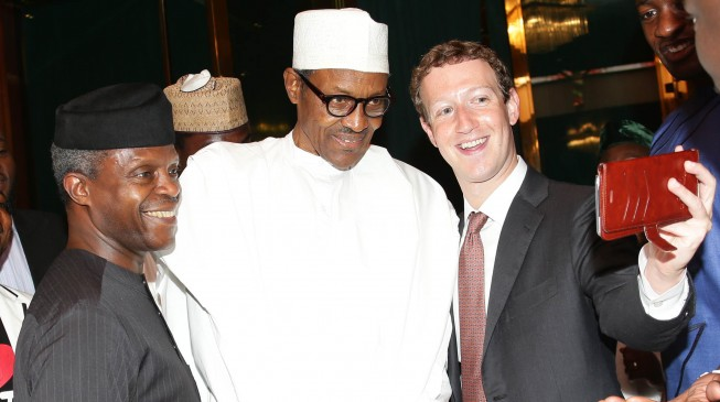 PHOTO STORY: Zuckerberg back in Nigeria to meet Buhari