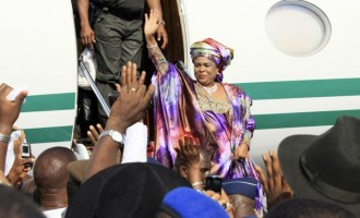 Patience Jonathan: For going after my money, EFCC is a big thief