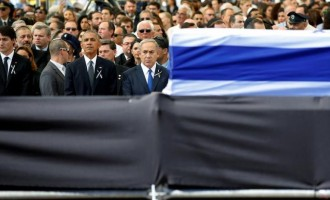 Obama, Clinton in Jerusalem for Shimon Peres' burial