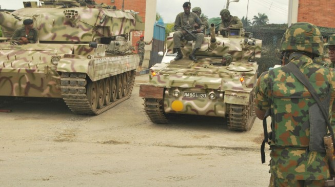 'Soldiers using Soviet-era weapons to fight well-equipped Boko Haram'