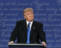 A loss means waste of time and money, says Trump