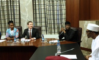 We're not used to successful people jogging in the streets, Buhari tells Zuckerberg