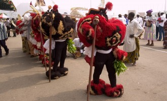 Obong of Calabar asks police to arrest masquerades begging for money