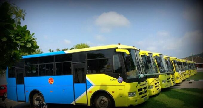 FG distributes 4,116 buses 'to provide cheap road transport'