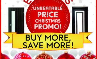 Recession or not, upgrade your properties this Christmas with Emilinks premium quality doors at unbeatable prices!