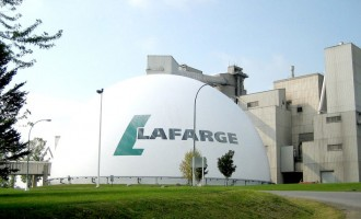 Lafarge shares plummet after loss announcement
