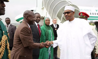 Magu, four ministers in Buhari's delegation to Ethiopia
