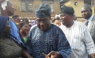 EXTRA: Obasanjo misses flight but identifies with 'Okada' riders