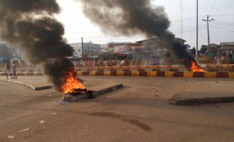 Jimoh Ibrahim: Mimiko's boys just burning tyres, no violence in Ondo