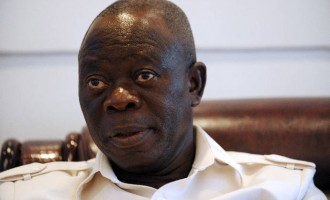 Oshiomhole: PDP behind rumours of Buhari's third term bid